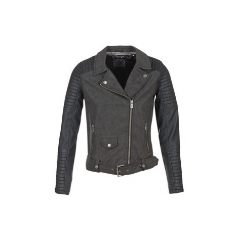 Kaporal BOUTI women's Leather jacket in Black