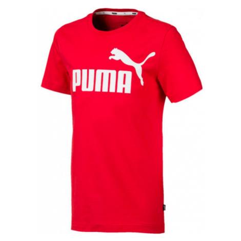 Puma ESS LOGO TEE B red - Boys' T-shirt