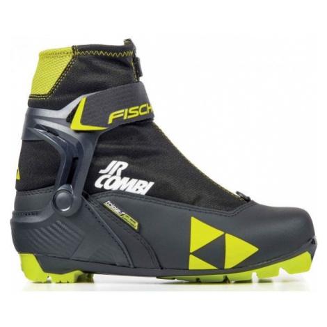 Fischer JR COMBI - Children's combined nordic ski boots