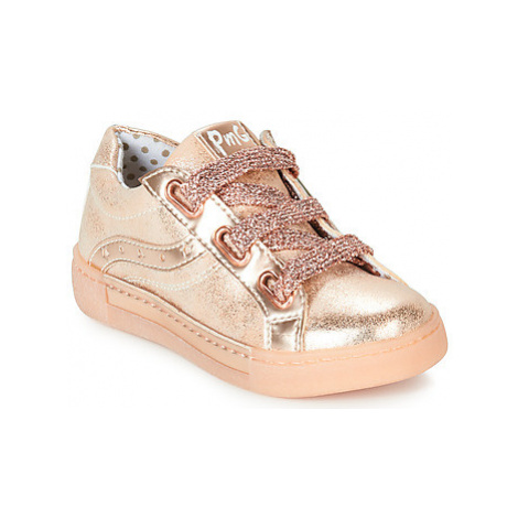 Primigi 3429000 girls's Children's Shoes (Trainers) in Gold