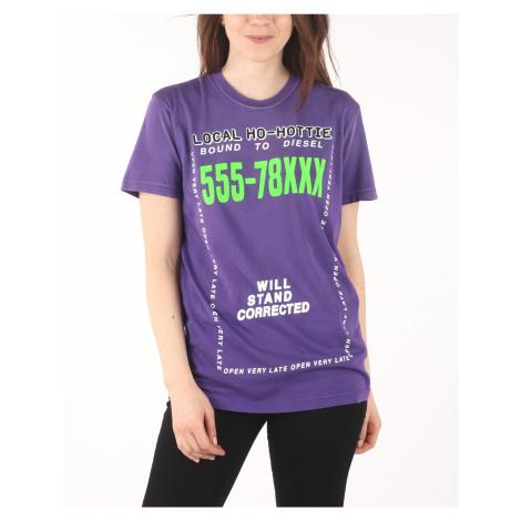 Diesel T-Diego-Di-Fi T-shirt Violet
