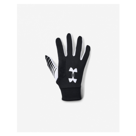 Under Armour Field Player's Gloves Black White