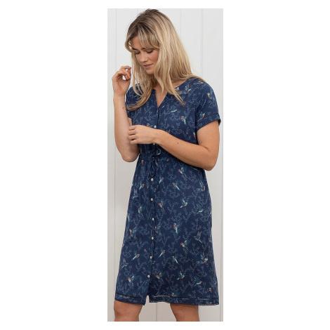 dress Brakeburn Hummingbird Button - Blue - women´s
