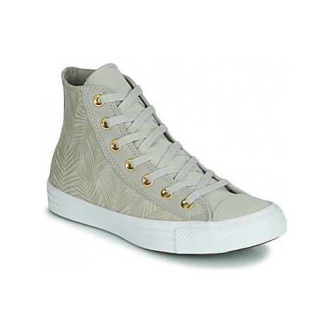 Green women's canvas trainers