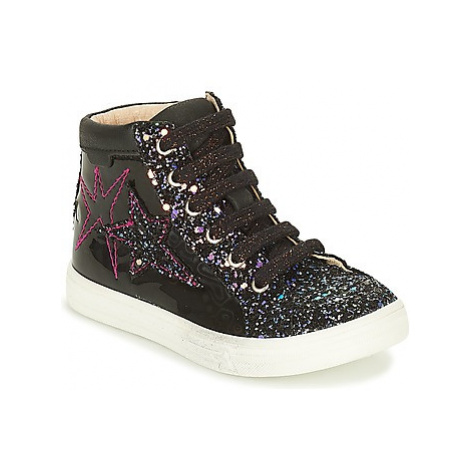 GBB MARTA girls's Children's Shoes (High-top Trainers) in Black