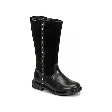 Pablosky 475812 girls's Children's High Boots in Black