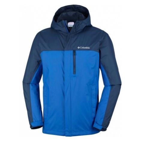 Columbia POURING ADVENTURE II JACKET M blue - Men's outdoor jacket