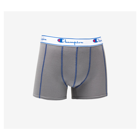 Champion 2 Pack Boxer Grey/ Navy/ Green