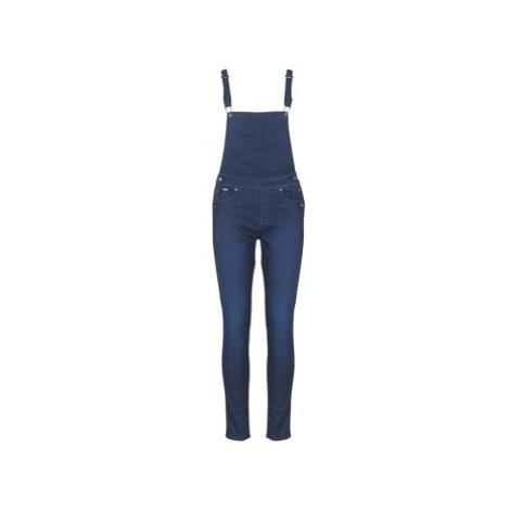 G-Star Raw D-STAQ 5-PKT HW SKINNY OVERALL WMN women's Jumpsuit in Blue
