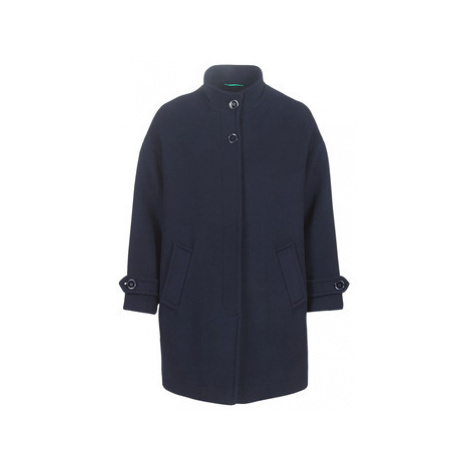 Benetton STORI women's Coat in Blue United Colors of Benetton