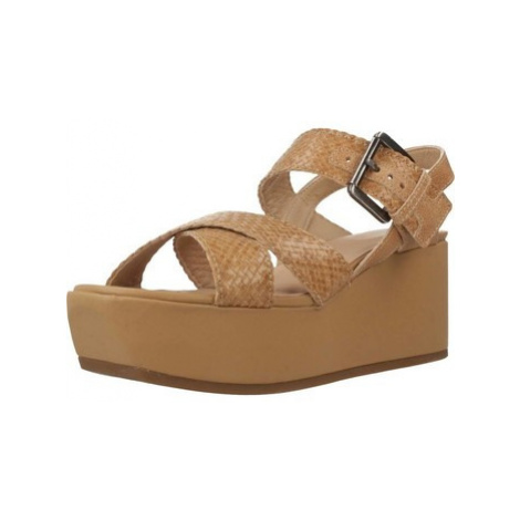 Geox D ZERFIE women's Sandals in Brown