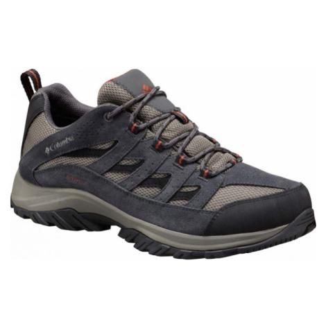Columbia CRESTWOOD LOW grey - Men's multipurpose sports shoes