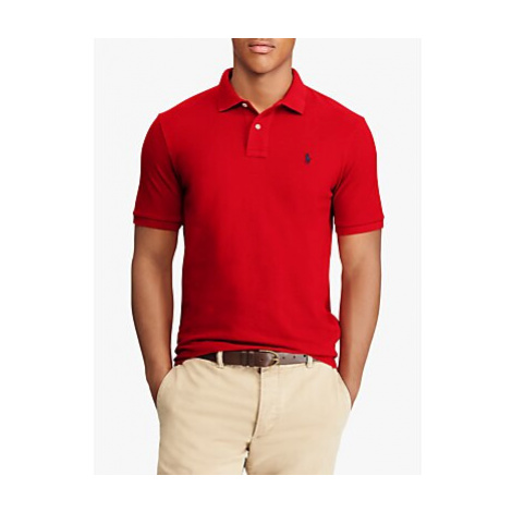 Polo Ralph Lauren Slim Fit Polo Top, Red