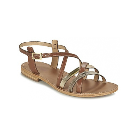 Les Tropéziennes par M Belarbi HAPAX women's Sandals in Brown