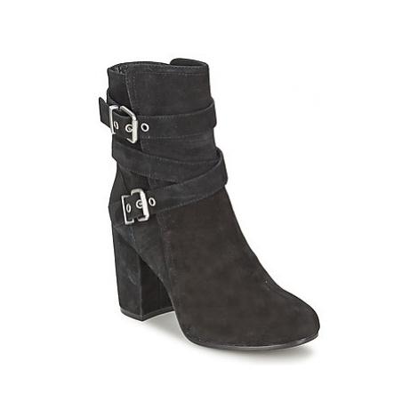 Ash FARGO women's Low Ankle Boots in Black