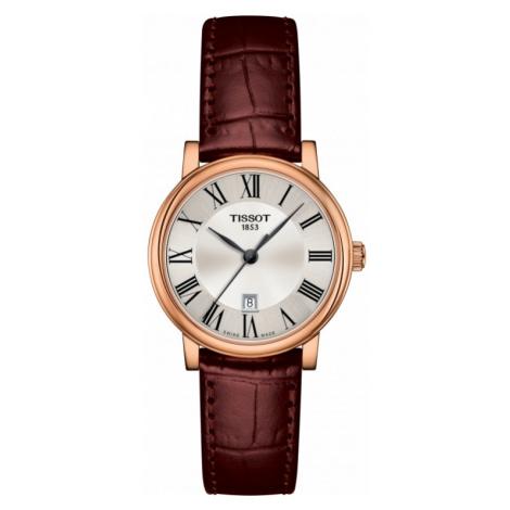 Ladies Tissot Carson Quartz Watch T1222103603300