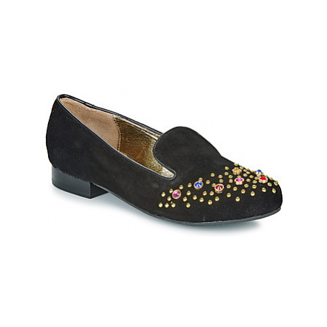 Lola Ramona PENNY women's Loafers / Casual Shoes in Black