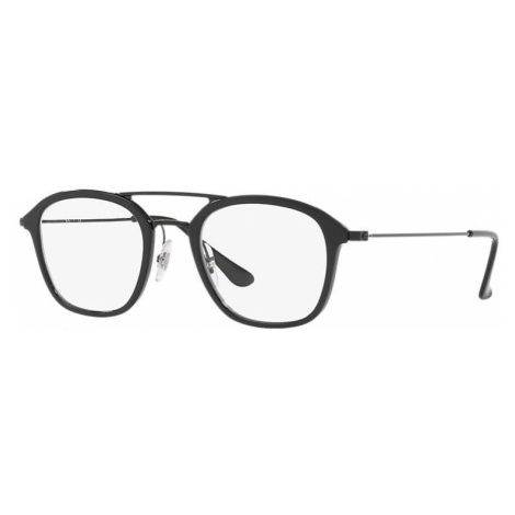 Ray-Ban Rb7098 Man Optical Lenses: Multicolor, Frame: Black - RB7098 5725 50-21