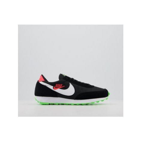 Nike Daybreak BLACK WHITE GREEN STRIKE FLASH CRIMSON