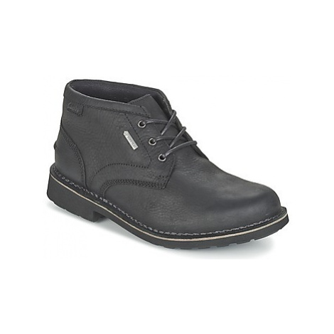 Clarks LAWES MID GTX men's Mid Boots in Black