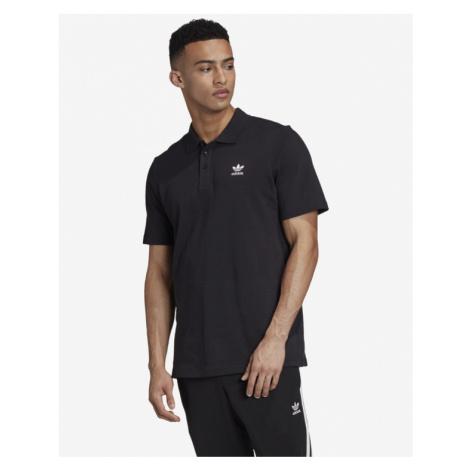 adidas Originals Trefoil Essentials Polo Shirt Black