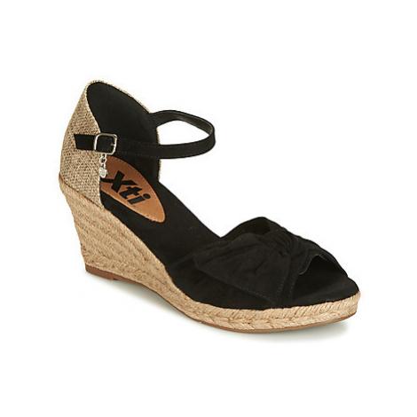 Xti 49105 women's Sandals in Black