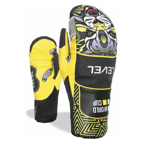 glove Level Race Speed Mitt - Yellow - men´s