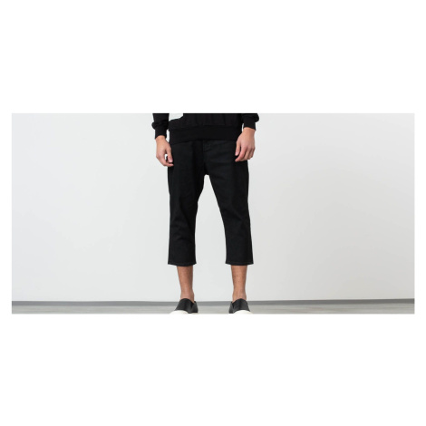 Rick Owens DRKSHDW Combo Collapse Cropped Jeans Black