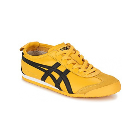 Onitsuka Tiger MEXICO 66 women's Shoes (Trainers) in Yellow