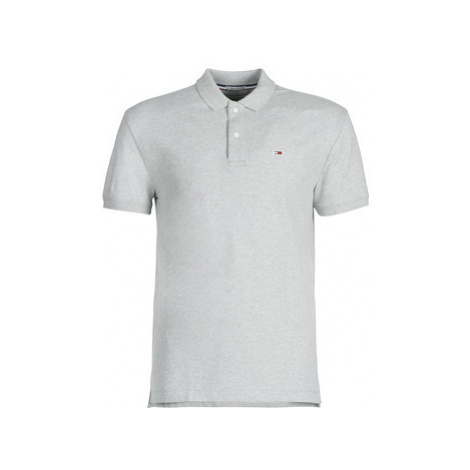 Tommy Jeans TJM TOMMY men's Polo shirt in Grey Tommy Hilfiger