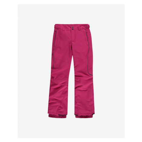 Pink girls' insulated trousers