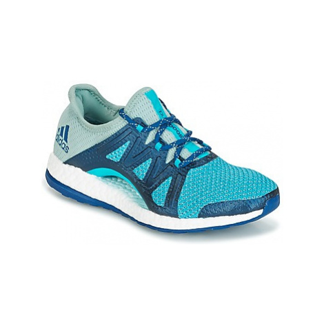Adidas PUREBOOST XPOSE women's Running Trainers in Blue