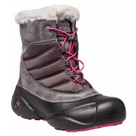 Columbia YOUTH ROPE TOW JUNIOR pink - Kids' winter shoes
