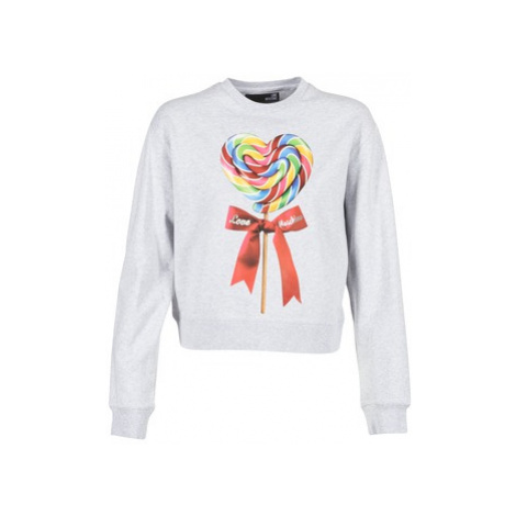 Love Moschino W630602 women's Sweatshirt in Grey