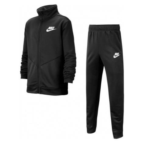 Nike NSW CORE TRK STE PLY FUTURA B black - Boys' tracksuit
