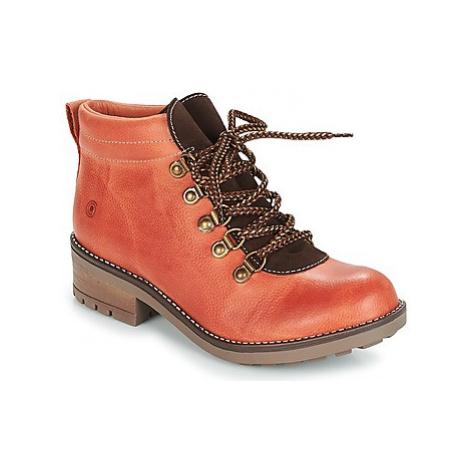 Casual Attitude JAFA women's Mid Boots in Orange