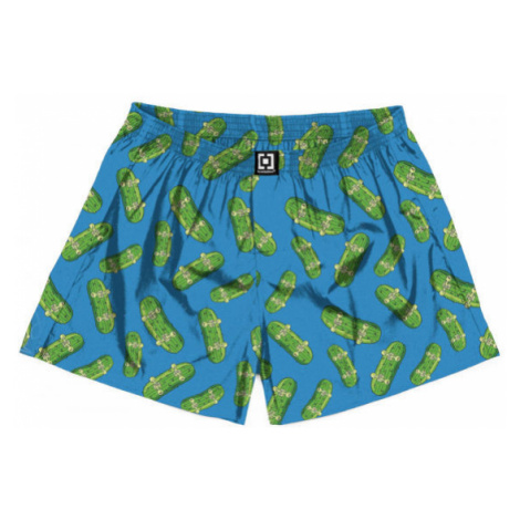 Horsefeathers MANNY BOXER SHORTS (PICKLES) blue - Men's boxer briefs