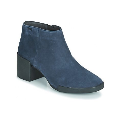 Camper LOTTA women's Low Ankle Boots in Blue