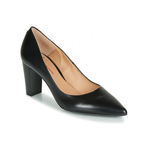 Perlato 11008-JAMAICA-NOIR women's Court Shoes in Black