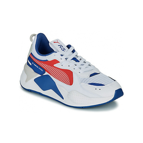 Puma RSX HARD DRIVE GS girls's Children's Shoes (Trainers) in White