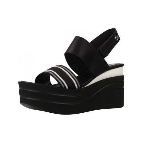 MTNG 51084M women's Sandals in Black