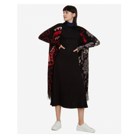 Desigual Detroit Cardigan Black Red
