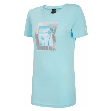 T-Shirt 4F H4L20-TSD026 - 47S/Mint - women´s
