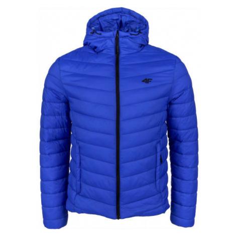 4F MEN´S JACKET dark blue - Men's winter jacket
