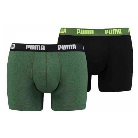 shorts Puma 521015001/Basic Boxer 2 Pack - 439/Ochre Green - men´s