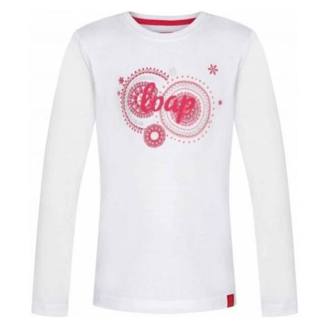 Loap ARISKA white - Girls' T-shirt