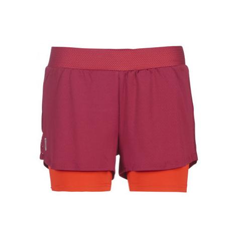 Red women's training shorts