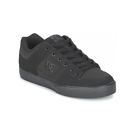 DC Shoes PURE men's Skate Shoes (Trainers) in Black