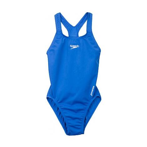 Speedo Girls' Medalist Swimsuit, Royal Blue