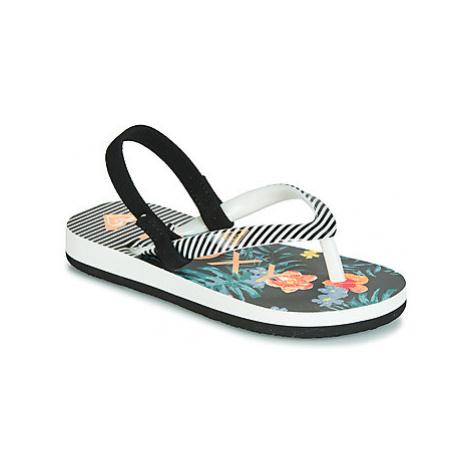 Roxy TW PEBBLES VI T SNDL MLT girls's Children's Sandals in Black